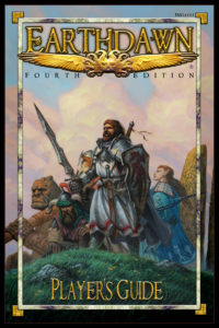 Earthdawn 4 Player's Guide Cover