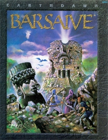 Cover to the First Edition Barsaive Campaign Set
